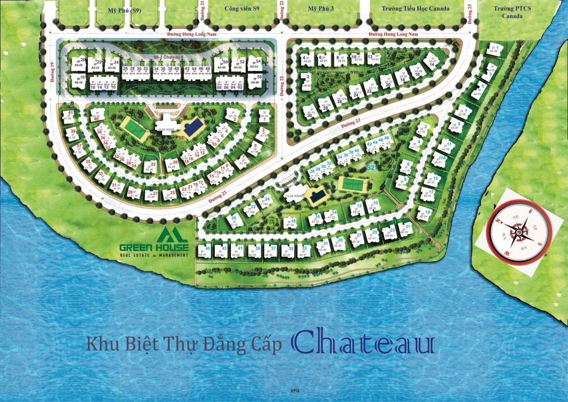 bản đồ chateau phú mỹ hưng